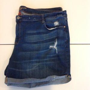 Arizona Jean Co. Distressed denim shorts